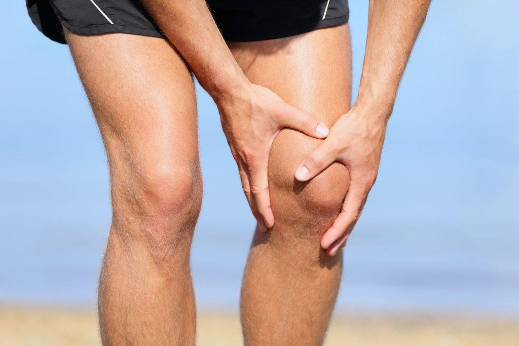 Knee pain injury